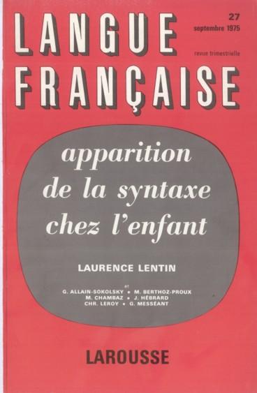 Bibliographie    Langue française