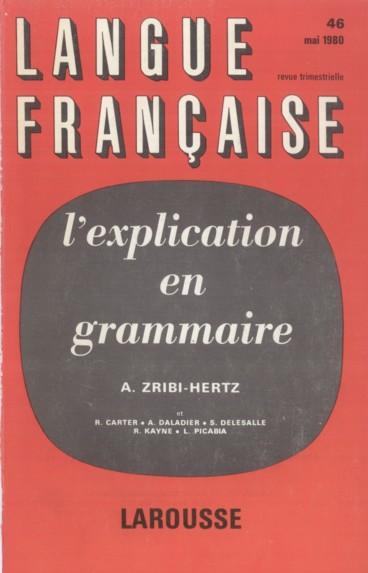 Références    Langue française
