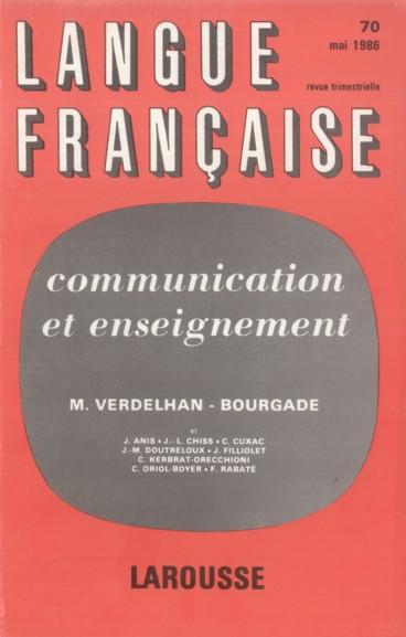 Comptence De Communication Et Cette