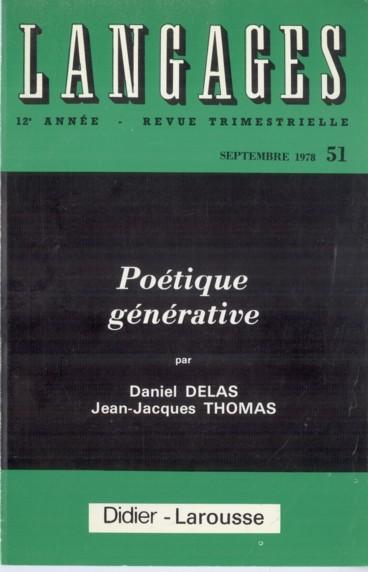 La Grammaire Generative Rencontre La Figure Lectures Persee