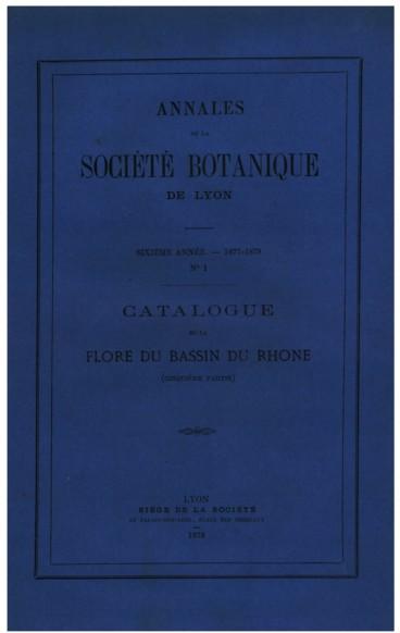 Catalogue de la flore du bassin du Rhône (Araliacées
