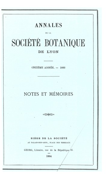 Un Livre Peu Connu D Un Botaniste Lyonnais Du Xvii Eme