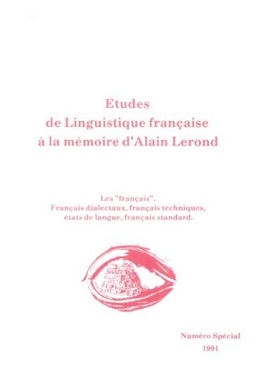 Structure sémantique du verbe prendre en français moderne et en moyen français