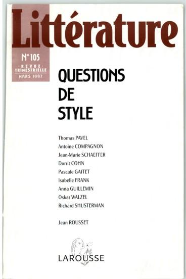 Alois Riegl 1858 1905 Et L Analyse Du Style Des Arts Plastiques Persee