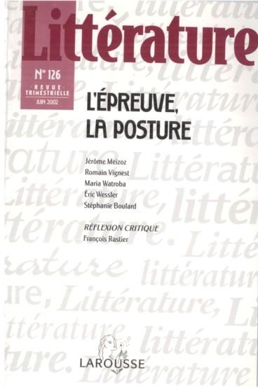 Figures D Epreuves Proust Et La Chirurgie Persee