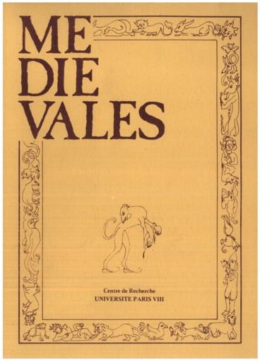 Editorial    Médiévales