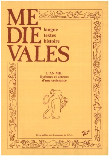 Martin Aurell, La vielle et lépée. Troubadours et politique en Provence au XIIIe siècle