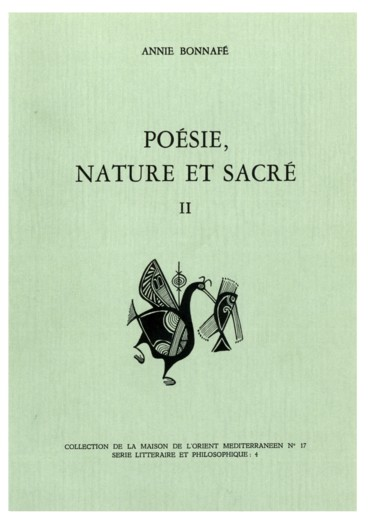 Poésie Nature Et Sacré Tome Ii Lâge Archaïque Persée