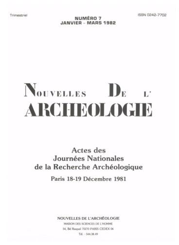 Archéologie absolue définition de datation