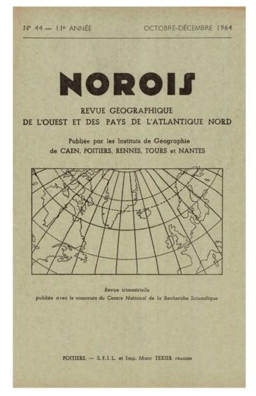 Quelques études récentes de géographie urbaine dans lOuest