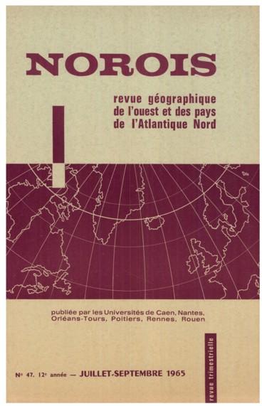 Les migrations bretonnes récentes 1954-1962