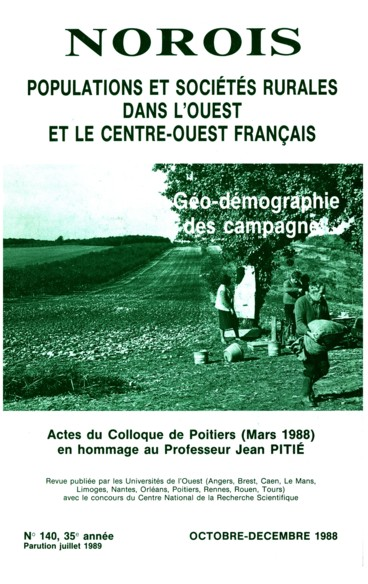 Bibliographie des travaux géographiques de Jean Pitié