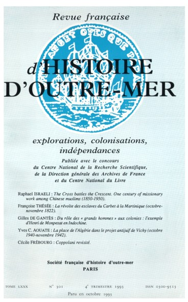 La Révolte Des Esclaves Du Carbet à La Martinique Octobre Novembre