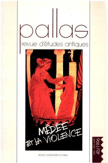Euripides' Medea : Vengeance, Reversal and Closure - Persée
