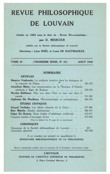 A.-D. Sertillanges, Le Problème du Mal. Tome I : LHistoire.