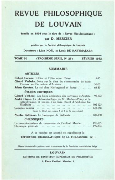 Les Listes Anciennes Des Ouvrages D Aristote Persee