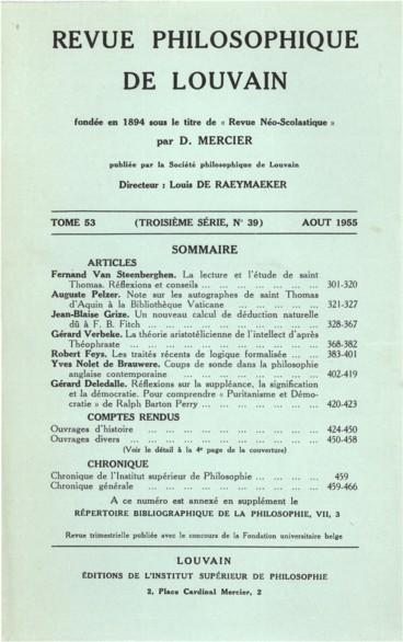 Joseph Lenz, Der moderne deutsche und französische Existentialismus
