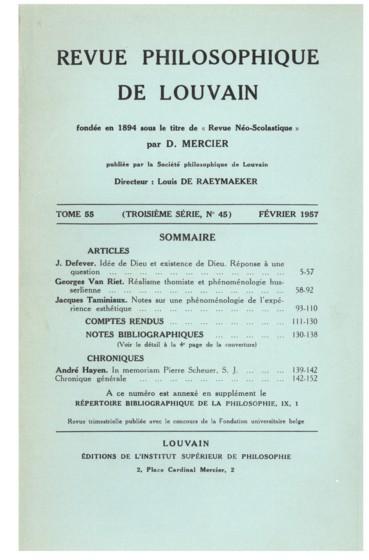 P. Ginestier, La pensée anglo-saxonne depuis 1900