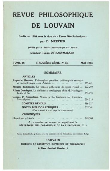 Moderne datant pensée catalogue