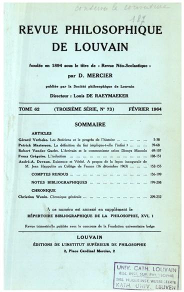 Saint Thomas, Lêtre et lesprit. Textes choisis et traduits par Joseph Rassam