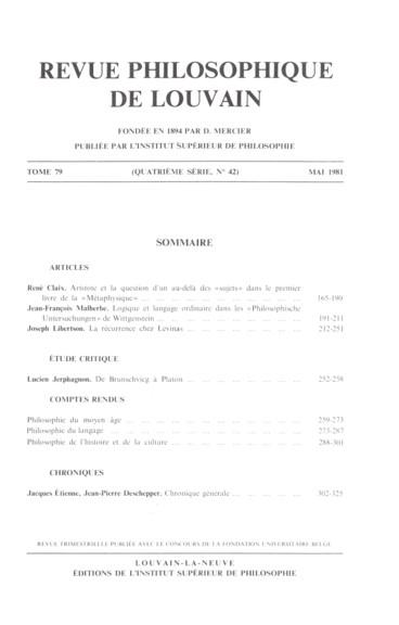 Mihailo Djurić, Mythos, Wissenschaft, Ideologie. Ein Problemaufriss