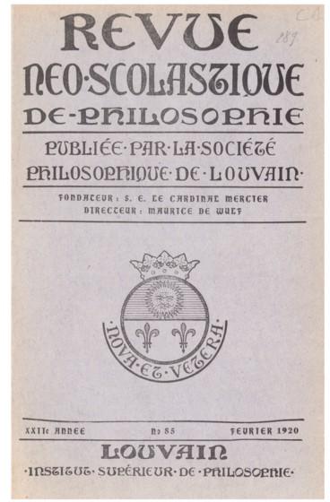 Can. Amato Masnovo, Dott. in Teologia e Filosofia, Introduzione alla Somma Teologica di San Tommaso; Piccoli Saggi
