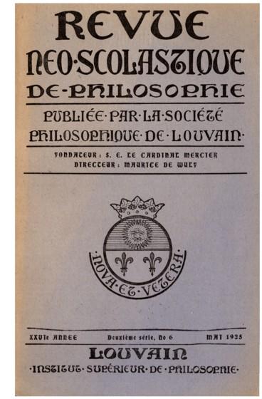 Auguste Valensin, A travers la Métaphysique
