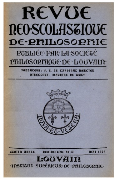 Xenia Thomistica, publiés par le Collège Angélique de Rome à loccasion du sixième centenaire de la canonisation de saint Thomas dAquin