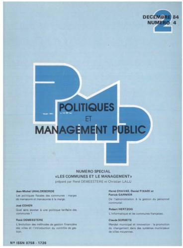 1ff53bfef4e De l administration à la gestion du personnel communal - Persée