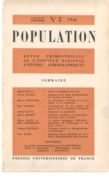 Consequences De Six Annees De Guerre Sur La Population Francaise