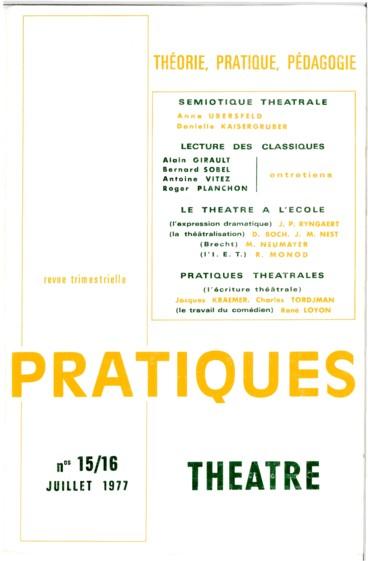 Théâtre Et Pédagogie L Exemple De Bertold Brecht Persée