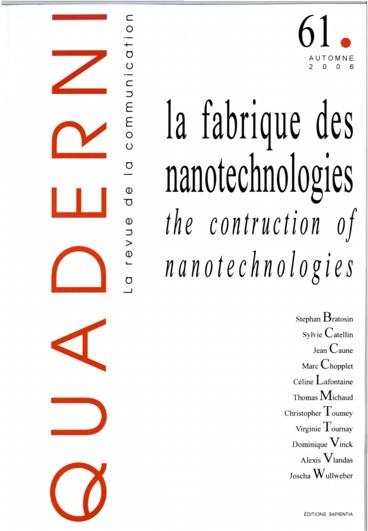National Discourses On Democratizing Nanotechnology Persee