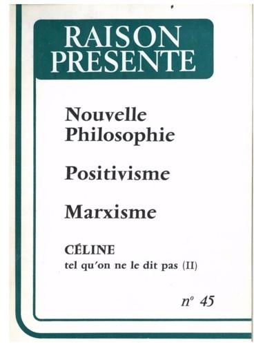 e7b5d26f872 Louis-Ferdinand Céline tel qu on ne le dit pas - Persée