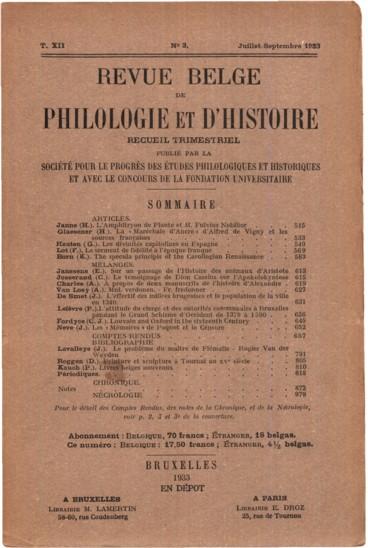 Stähelin Felix, Die Schweiz in Römischer Zeit. 2e édition