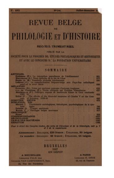 Lavalleye Jacques. Juste de Gand, peintre de Frédéric de Montefeltre