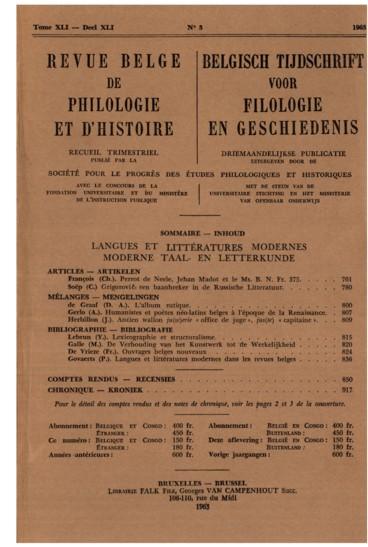 Lexicographie et structuralisme