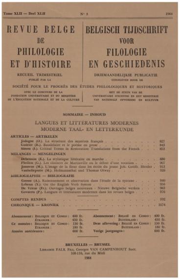 Baudelaire Et Le Poème En Prose Persée