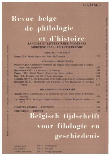 Albert Mockel Daprès Des Lettres Inédites Persée