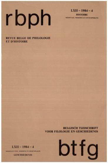 Société pour le Progrès des Études philologiques et Historiques. Séances du 14 mai 1983 et du 12 novembre 1983