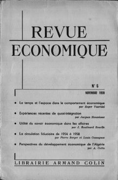 Les Perspectives Decennales Du Developpement Economique De L Algerie