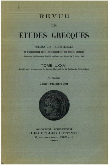 Theologie Cosmique Et Theologie Chretienne Persee