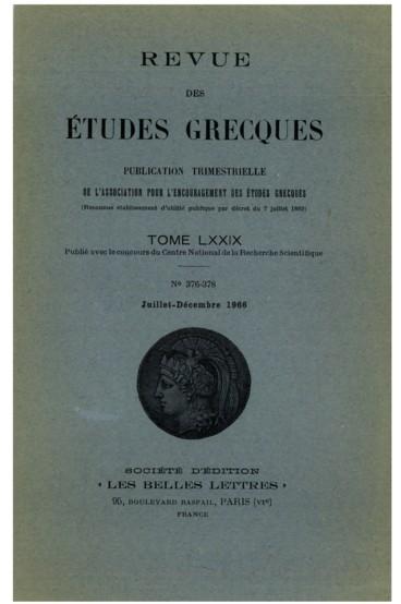 Georges Séféris Et La Langue Poétique Dans La Grèce Moderne