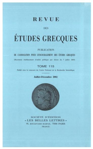1e13432f6258b Bulletin épigraphique - Persée