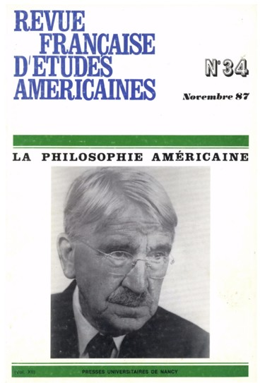 The Renascence Of Classical American Philosophy Perse