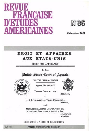 Antitrust Laws: the IBM and AT&T Cases - Persée