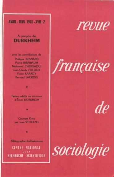 Durkheim Les Sciences Sociales Et L Universite Bilan D Un Semi