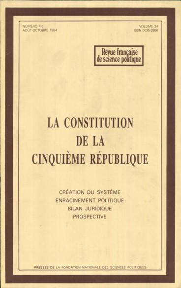 l u0026 39 assimilation relative de la constitution de 1958 par le