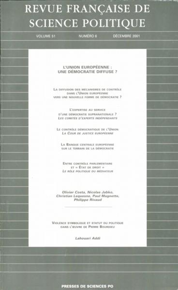 Violence Symbolique Et Statut Du Politique Chez Pierre Bourdieu Persee