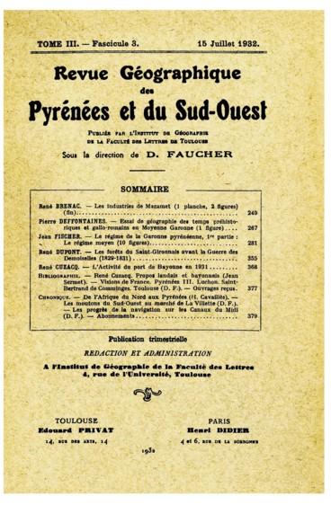 Visions de France. Pyrénées III. Luchon. Saint-Bertrand-de- Comminges. Toulouse, Texte et légendes de André Chagny