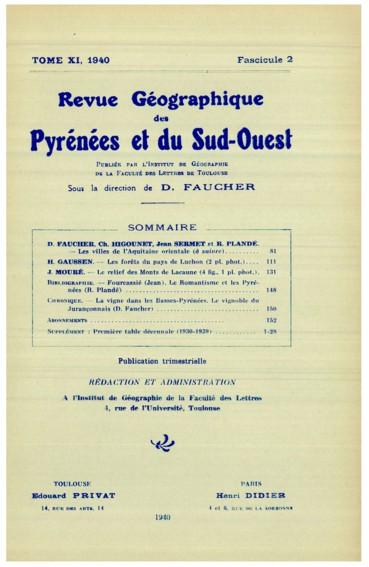 Les villes de l\'Aquitaine orientale (à suivre) - Persée